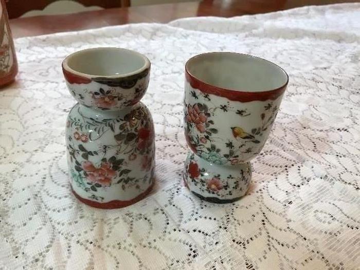 Oriental Egg Cups
