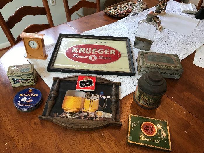 Beer Things & Tobacco Tins