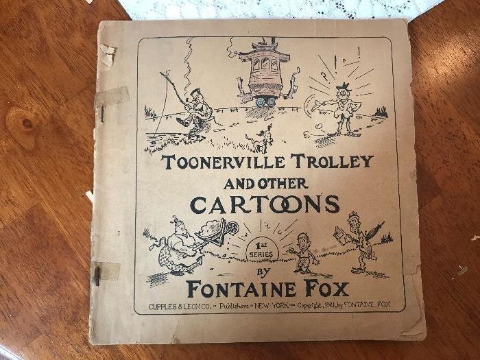 1921 Toonerville Trolley