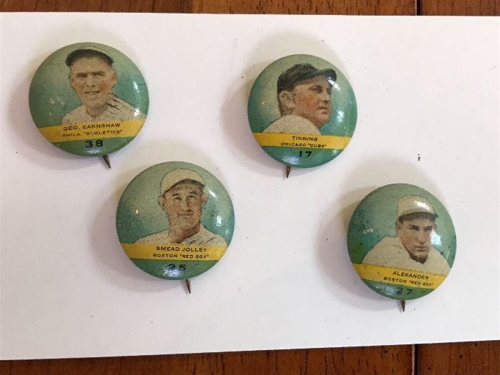 Old Baseball Pins