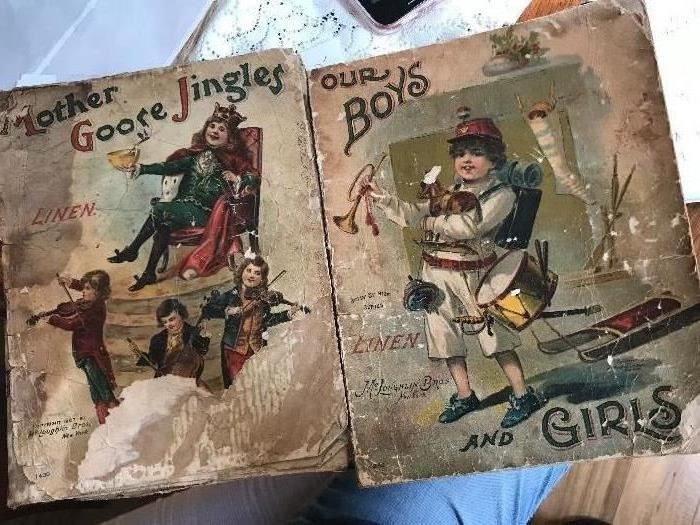 Old Books - Linen