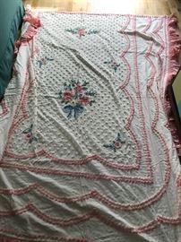 Needle Tuft Bed Spread