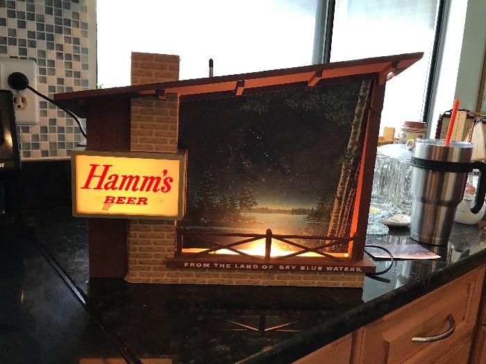 Hamm's Light - WORKS!!