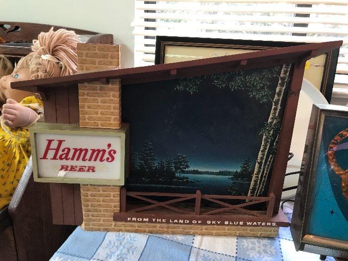 Hamm's Starry Night