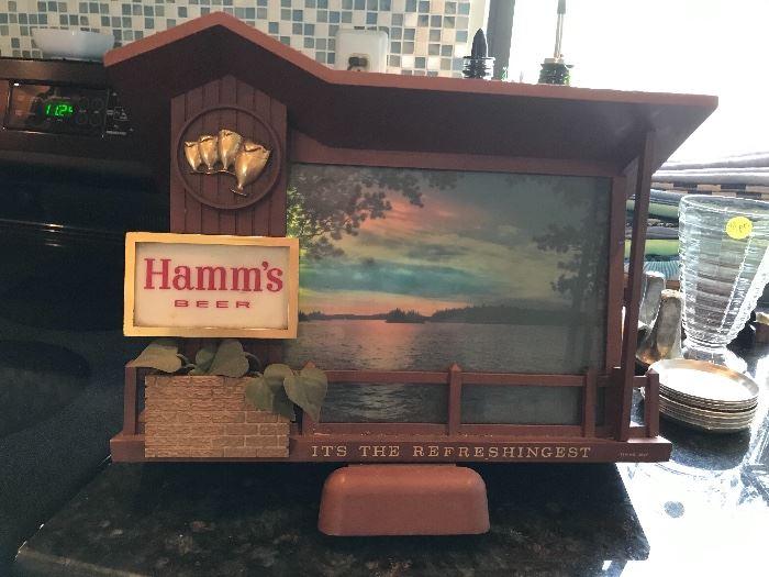 Hamm's Sunset Light