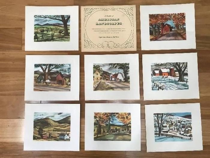 American Landscapes Prints