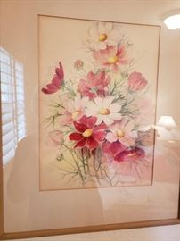 Original Water Color signed by Maker