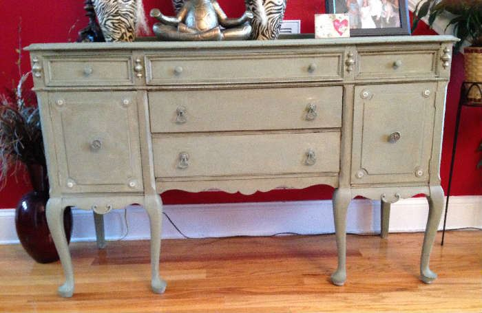 Refinished Antique Buffet