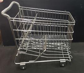 Vintage Salesman Sample Shopping Cart