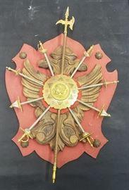 Souvenir Arms Plaque