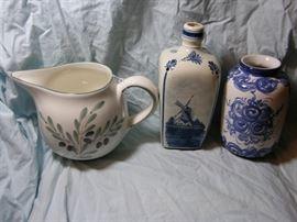 DELFT and Italian pottery groupig