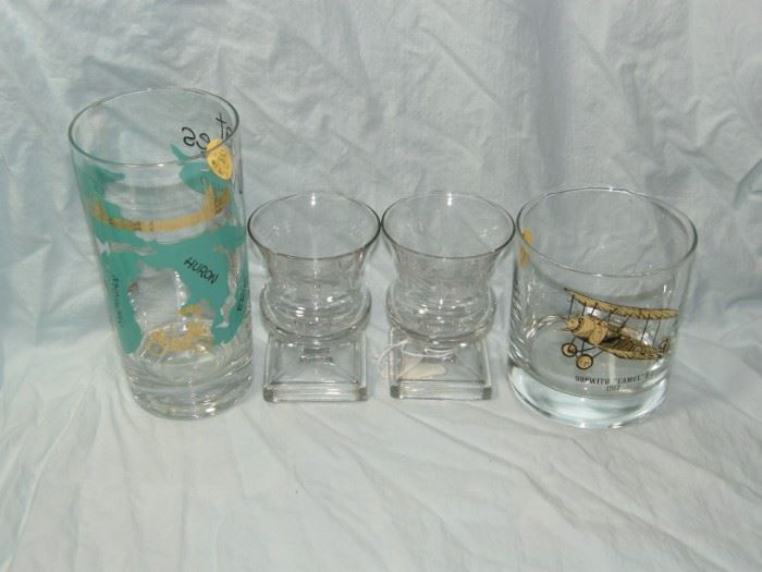 1960s barware and cut glass