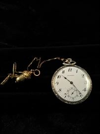 Antique Standard pocket watch with acorn fob https://ctbids.com/#!/description/share/125148