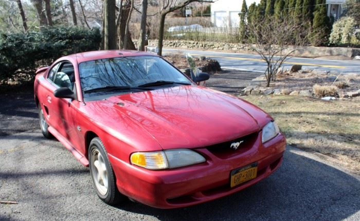 *1994 Ford Mustang GT-Daily Driver. Once owned by Robert Urich