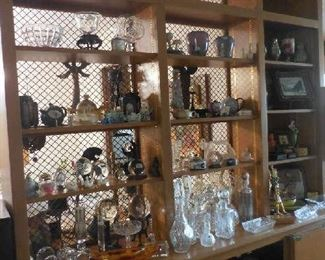 USSR crystal, crystal decanters, Russian jewelry boxes