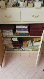 towels, etc.