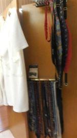 robes, ties, cumber belts,