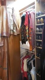 leather western jacket, vest, shoes, etc.
