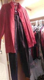 suede jacket/pants