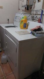 Amana washer is sold. Admiral dryer still available