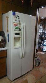 side-by-side fridge