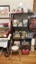 needle/crochet/sewing items, etc.
