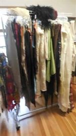 fine linens, shawls, etc.