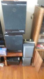 Sony speaker, Schneider speakers, etc.