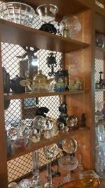 Asian antique teapots, USSR crystal, collectables, Steuben, Wedgwood, etc.