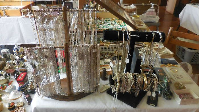Sterling Silver necklaces, etc.