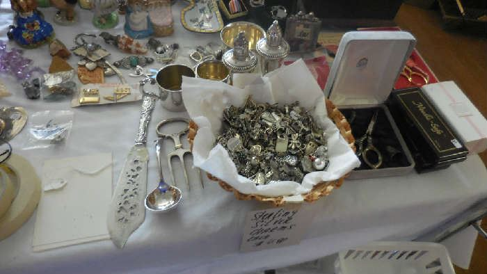 Sterling Silver and 925 charms, etc.