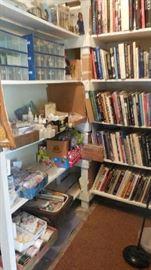 crafts material, book, etc.