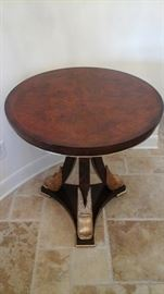 Maitland Smith round center table.