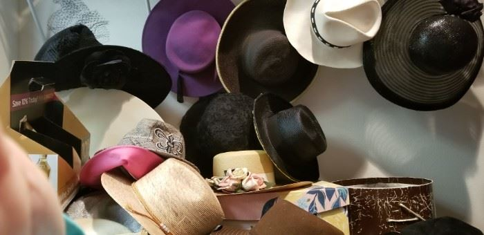 lots of fun hats