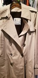 original London Fog rain coat