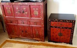 Asian inspired furniture