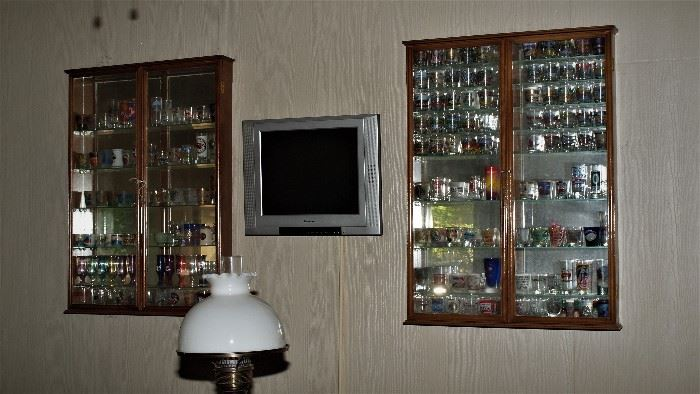 Shot glass Collection, Display Cases