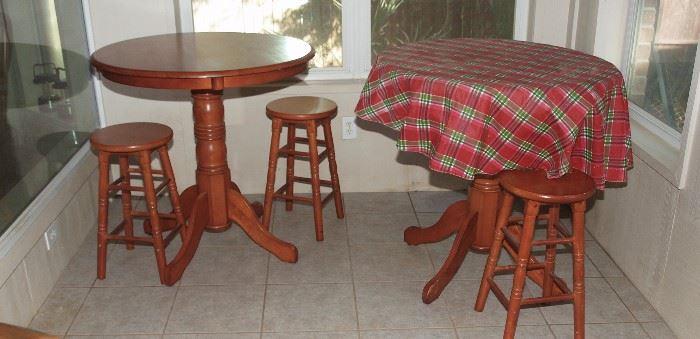 Pub Tables, Bar Stools **SOLD**