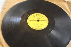 Sun Records Elvis Presley 78 record