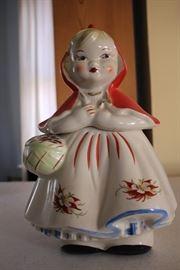 Red Riding Hood cookie jar