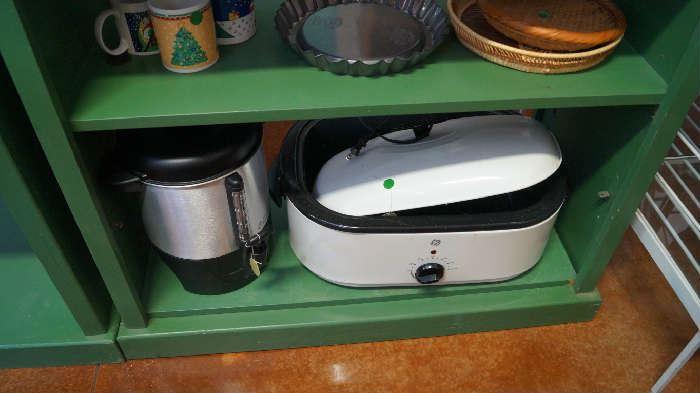roaster, coffee pot