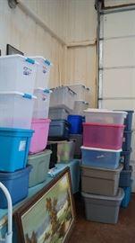 storage tubs