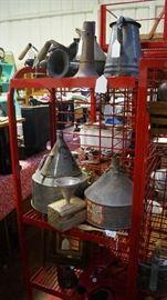 funnels and granite ware