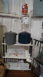 granite ware, cabinet storage