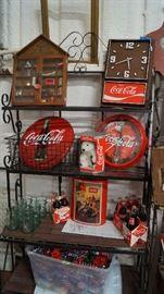 COKE, clocks, décor, miniatures