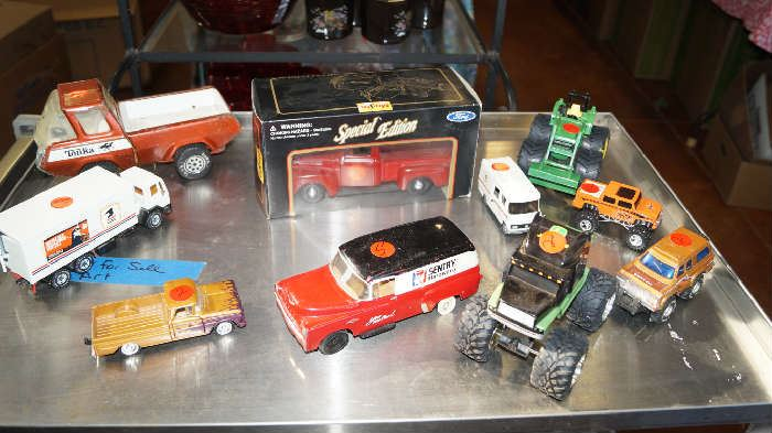 toy cars and collectibles