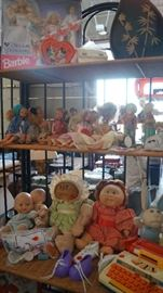 Cabbage Patch and Barbies