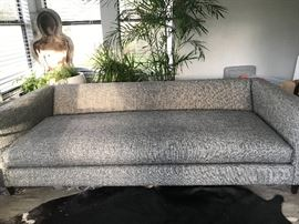 CB2 Large Sofa with removable, washable cushion cover.