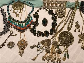 group picture of some of the great vintage jewelry