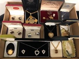 vintage jewelry in the original boxes!